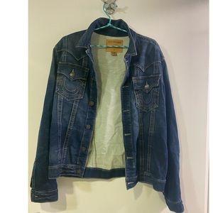 True religion Jean jacket; worn 3x Great condition